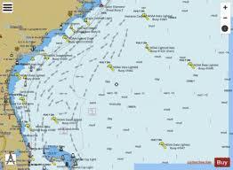 Cape Hatteras To Straits Of Florida Marine Chart