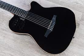 Godin Guitars Multiac ACS Nylon Black HG Acoustic Electric Nylon String  Guitar (032174)