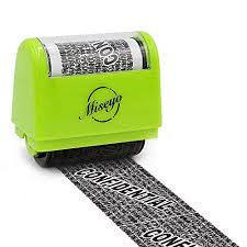 Roller 5 1 Wide Jual Stamp Identity Perfect Miseyo Theft Inch AvfgxnUw