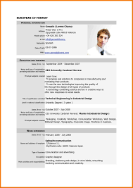 To For Cv Cv In English Template Form In English Download Resume