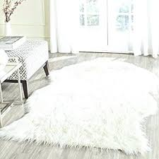 sheepskin area rug brilliant faux fur area rug home rugs ideas in white faux sheepskin area