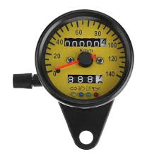 Yellow Light On Speedometer Buy Starnearby Universal Led Backlight Motorcycle Odometer