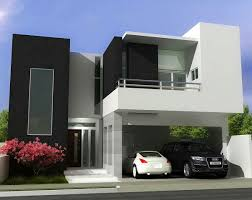 Architecture Black And White Color Exterior Design For Modern Minimalist  Home Architecture How to determine the wonderful design of the minimalist  house