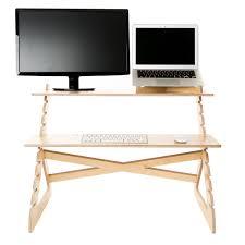sleek simple standing desks readydesk