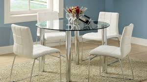 traditional glass top dining table round of room decorations kitchen tables