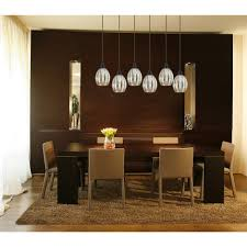 image of dining room light fixture glass