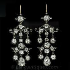 to enlarge photo to enlarge photo to enlarge photo antique diamond chandelier earrings