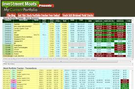 Our Free Online Investment Stock Portfolio Tracking Spreadsheet