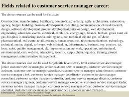 Senior customer service manager cover letter   sludgeport    web     FC