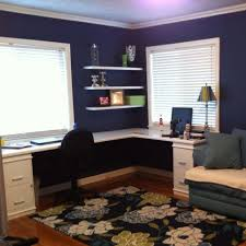 l shaped desk home office. lshaped desk using hollow wood doors and filing cabinets that i painted white l shaped home office r