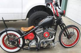 super clean old school bobber malibu motorcycle works