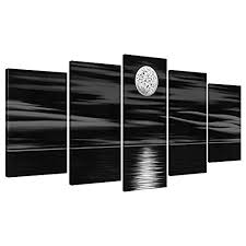 Black and White Wall Art Canvas: Amazon.com