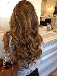 Natural Caramel Brown Hair Color With