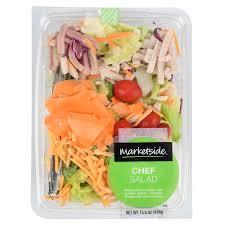 Walmart Deli Nutrition Chart Marketside Chef Salad 15 5 Oz Walmart Com