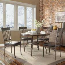 dining rooms set. evans 5-piece bronzed pewter dining set rooms