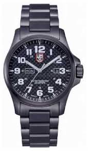 luminox watches official uk retailer first class watches luminox mens black ion plated steel carbon fiber effect watch a 1922