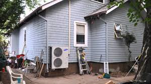 How To Install A Heat Pump Hvac Installation Of Samsung Dh140cav Concealed Heat Pump Youtube