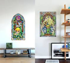 stained glass transfers stained glass wall decals rule even stained glass sticker for front door stained