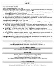 Good Resumes Best Examples Of Good Resumes 28 Inspirational A Good Resume Example