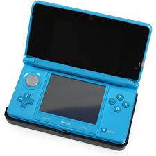 3ds Xl Blue Light No Screen Nintendo 3ds Light Blue