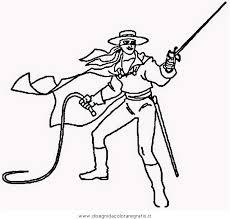 Disegno Zorro04 Personaggio Cartone Animato Da Colorare