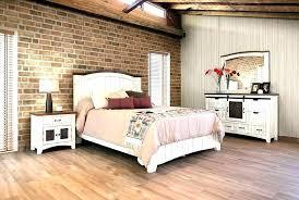 distressed wood bedroom set