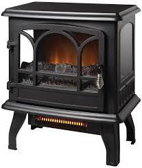 detalles acerca de electric stove heater infrared thermostat hampton bay heats 1 000 sq ft black