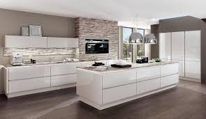 Design-Einbauküche Norina 9555-Weiss-Hochglanz-Lack - Küchen Quelle