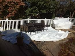 before shrink wrapping outdoor furniture plainview ny