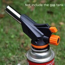 multifunction portable spray gas torch gun burner auto ignition cing electric lighter bbq flame gun barbecue fire garden