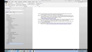 How To Edit An Endnote Reference List