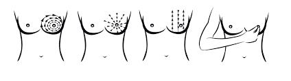 Resultado de imagen para autoexploracion de mamas