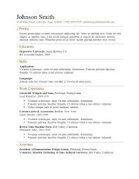 What Is A Resume Template Beauteous What Is The Best Resume Template Format Download Good Templates Free