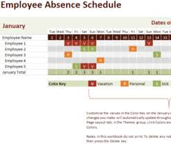 Request Off Calendar Template Employee Vacation Tracking Calendar Template