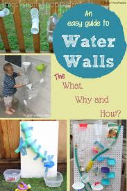everything you need to know about how to make a water wall for kids and