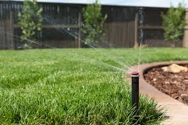 Image result for lawn sprinkler system helps you to save time