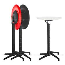 spencer round folding high table black legs 60cm colors available