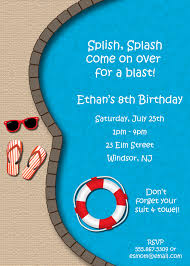 pool party invitation pool birthday party pools birthdays and pics for > adult pool party invitations
