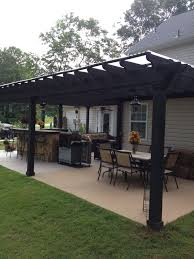 covered patio ideas on a budget. I Like This Open Layout The Pergola Over Table Grill Covered Patio Ideas On A Budget