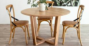 baxter 120cm round dining table