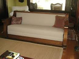 antique mission style sofa bed