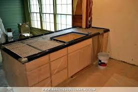 poured concrete countertop cast in place pour in place ete simple granite poured concrete countertop cost