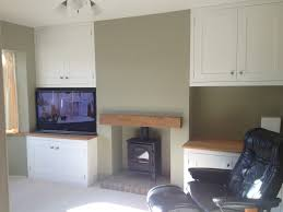 Living Room Alcove Built In Alcove Units Fireplace Beam Mj Carpentry Joinery