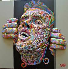 French Street Artist Shaka's Amazing 3D Graffiti Art