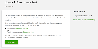 Readiness Blog Shajeel's Test Upwork