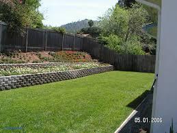 backyard retaining wall ideas unique retaining walls for sloped backyards
