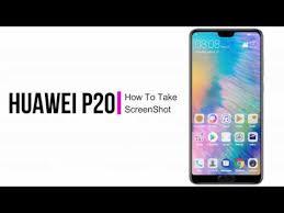 How To Take a ScreenShot on the Huawei P20 Pro / P20 and P20 Lite ...