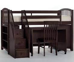 bunk bed with desk. Alternative Views: Bunk Bed With Desk
