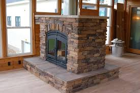 custom see through wood fireplace double sided fireplaces for awesome two sided fireplace