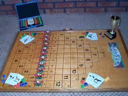 Homemade Wooden Board Games Anyone know the Wood Horse Racing Game 63